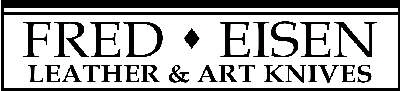 Fred Eisen Leather and Art Knives Logo