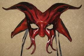 Leather Mask by Caroline Guyer