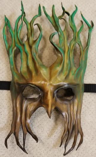 Leather Mask 1802 - Mask $149.