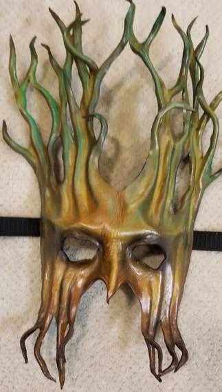 Leather Mask 1803 - Mask $159.
