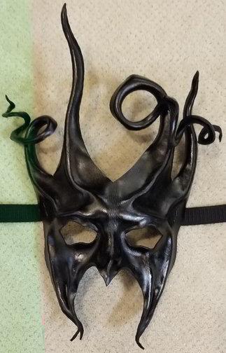 Leather Mask 1804 - Mask $159.