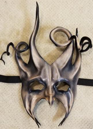 Leather Mask 1805 - Mask $159.