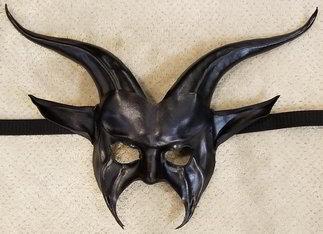 Leather Mask 1807 - Mask $169.