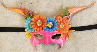 Leather Mask 1808 - Mask $169.