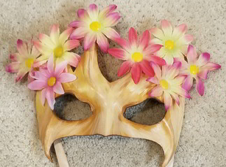 Leather Mask 1809 - Mask $79.