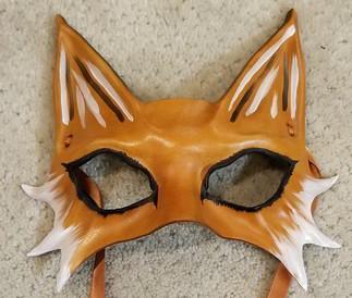 Leather Mask 1810 - Mask $79.